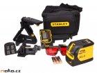 STANLEY FatMax SCL-D laser křížový samonivelační s přijímačem 1-77-321