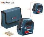 BOSCH GLL 2-10 Professional samonivelační liniový laserový přístroj 0601063L00