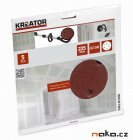 KREATOR KRT232007 brusný výsek 225mm 5ks G150