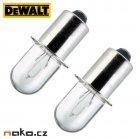 DeWALT DE9043 náhradní žárovka 2ks