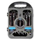 XTline sada ráčnových očkoplochých kloubových klíčů 10-19mm KL345700