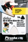 BLACK&DECKER X32348 sada brusných papírů 10ks Piranha