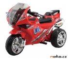 HECHT 52131 dětská aku motorka tříkolka červená 6V, 4,5Ah, 18W