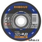 RHODIUS 125x2.0 FT33 PROline řezný kotouč na ocel