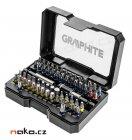 GRAPHITE 56H600 sada bitů Ph, PZ, TRX, PL, HEX - 60ks