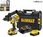 DeWALT DCD995P2 XRP bezuhlíková aku vrtačka s příklepem 18V 2x5Ah LiIon