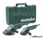 METABO combo set úhlových brusek v kufru WX 2200-230+W 820-125 6850730