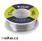 EXTOL CRAFT cín pájecí 1mm 100g 9945