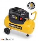 POWERPLUS POWX1725 bezolejový kompresor 24l
