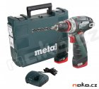 METABO PowerMaxx BS Quick Basic aku šroubovák 10,8V 2x2Ah Li-Ion 60015650