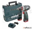 METABO PowerMaxx BS Quick Basic aku šroubovák 10,8V 2x2Ah Li-Ion 60015650