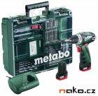METABO PowerMaxx BS Basic SET mobilní dílna 10,8V 2x2Ah Li-Ion 600080880