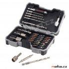 BOSCH PRO-mix sada bitů, nástrčných klíčů a vrtáků do oceli 2607017328