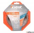 EXTOL pilový kotouč s SK plátky 125x2,6x22,2 (8803207)