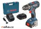 BOSCH GSR 14,4-2-LI Plus Professional aku vrtačka 2x2Ah Li-Ion v kufru 06019E6020