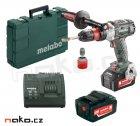 METABO GB 18 LTX BL Q bezuhlíkový aku závitořez a vrtačka 2x5,2Ah LiIon 603827500