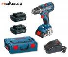 BOSCH GSR 14,4-2-LI Plus Professional aku vrtačka 3x1,5Ah Li-Ion L-BOXX 0615990H1K