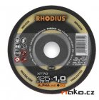 RHODIUS 125x1.0 XT10TOP řezný kotouč