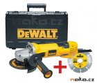 DeWALT D28136KD úhlová bruska 125mm 1500W v kufru + dia kotouč
