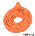 Kabel prodlužovací 30m, 3x1,5mm2