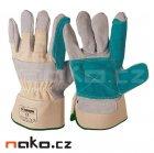 ISSA rukavice kombinované z hověziny 07104