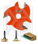 CMT C82234011 talířová fréza bez vřetene 4mm