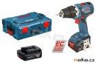 BOSCH GSR 14,4 V-EC Professional aku vrtačka 2x2Ah Li-Ion, bezuhlíkový motor, 06019D6002