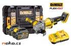 DeWALT DCG414T2 XR FLEXVOLT aku úhlová bruska 125mm, 2x 18/54V 6.0/2.0Ah Li-Ion
