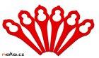 BOSCH bezpečnostní plastové nože pro ART 26 F016800183