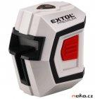 EXTOL PREMIUM 8823301 křížový samonivelační liniový laser 1H1V