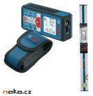 BOSCH GLM 80 + R60 Professional laserový dálkoměr a lišta 0601072301
