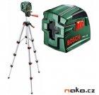 BOSCH PCL 10 Set křížový laser a stativ 0603008121