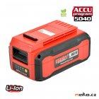 HECHT 005025B baterie LiIon 40V 2,5Ah, ACCU program 5040 - ORIGINÁL
