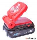 XTline XT102320 LED aku svítilna 14,4 / 18V, 3W