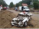 Povodně srpen 2010 - obec Víska u Višňové na Frýdlantsku