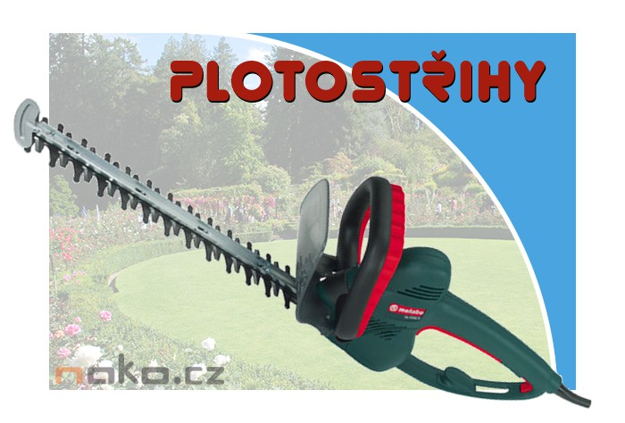 Plotostřihy HECHT, METABO, Black & Decker
