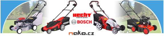 Prodej zahradní techniky NAKO Pardubice