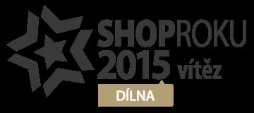 Shop roku 2015 - vítěz ceny kvality v kategorii Dílna